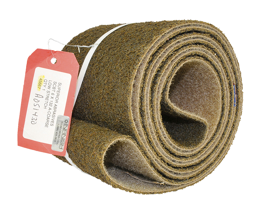 Surface Conditioning Belt: 6 x 132 Coarse