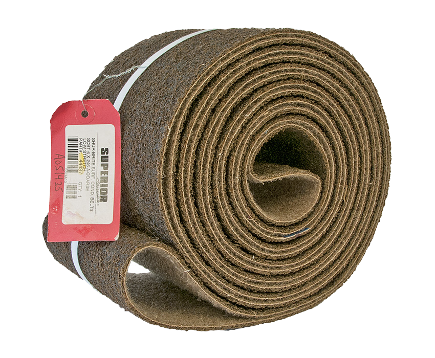 Surface Conditioning Belt: 6 x 246 Coarse