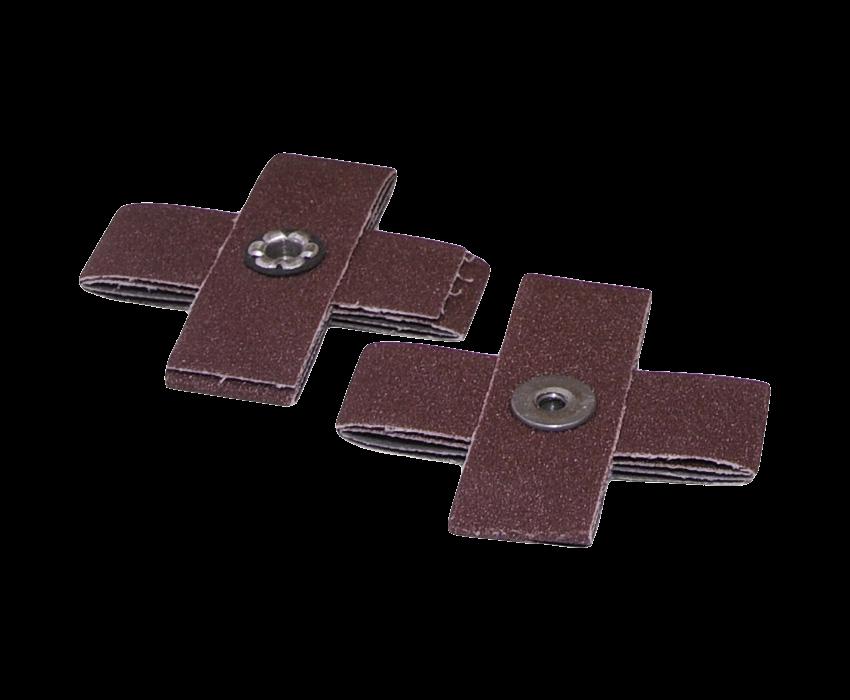 Cross Pad: 3 x 3 x 1 80 Grit 8 Ply 1/4-20