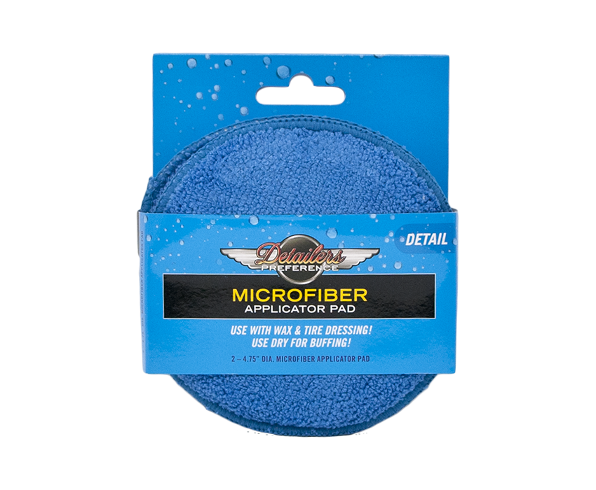 Eurow Microfiber Round Applicator Pad 2 Pack