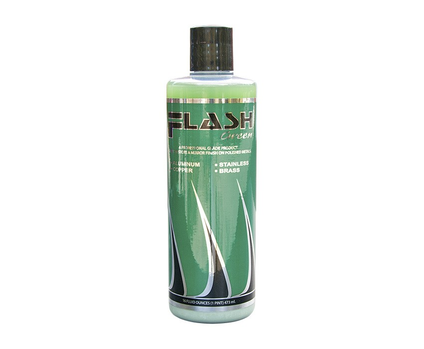 Flash Green Liquid Metal Polish (16oz.)