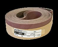 "VSM Abrasive Belt 3"" x 168"" 120 Grit A/O X Wt."