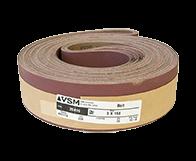 "VSM Abrasive Belt 3"" x 168"" 220 Grit A/O X Wt."