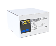 "Merit PB273 A/O 120 Grit 5"" Discs"
