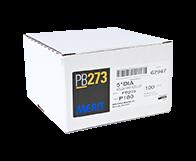 "Merit PB273 A/O 180 Grit 5"" Discs"