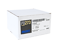 "Merit PB273 A/O 220 Grit 5"" Discs"