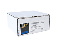 "Merit PB273 A/O 120 Grit 6"" Discs"