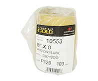 "Carbo Gold A/O 120 Grit 5"" PSA Disc"