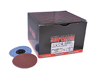"""Quick Change Discs 3"""" 80 Grit A/O Type """"S"""""""