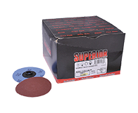 """Quick Change Discs 3"""" 240 Grit A/O Type """"S"""""""
