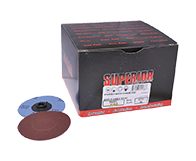 """Quick Change Discs 3"""" 320 Grit A/O Type """"S"""""""