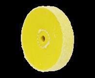 "Midget Buff 3"" Yellow 40ply"