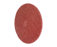 Red Treated Sisal Buff 10" Diameter