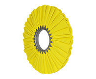 "Yellow Airway Buff 10"" Class 4 16ply"